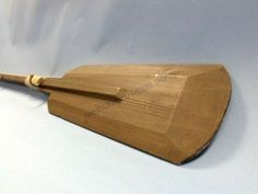 "Classic Wooden Oar w/ Hooks 56"" from Handcrafted Nautical Decor - In stock and ready to ship"