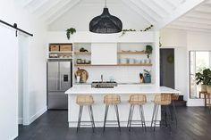 Marvelous Useful Tips: Beach Coastal Decor pottery barn coastal living room. Rebecca Judd, Best Kitchen Designs, Modern Kitchen Design, Coastal Living, Coastal Decor, Coastal Style, Coastal Cottage, Coastal Farmhouse, Coastal Curtains