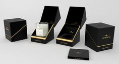 Other packaging or label by meeva Candle Branding, Candle Packaging, Jewelry Packaging, Box Packaging, Gift Box Design, Cosmetic Design, Candle Box, Luxury Packaging, Luxury Candles
