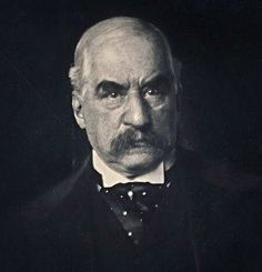 U.S. BANKING. BUSINESS. John Pierpont Morgan, Esq. (1837-1913), 1903 // by Edward J. Steichen. J.P. Morgan was an American financier, banker, philanthropist and art collector who dominated corporate finance and industrial consolidation during his time. In early 1890s Morgan arranged the merger of Edison General Electric and Thomson-Houston Electric Company to form General Electric.