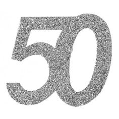Confettis anniversaire 50 ans argent pailleté les 6 Coloring Letters, 30, Happy Birthday, Symbols, Attention, Design, Chic, Products, Followers