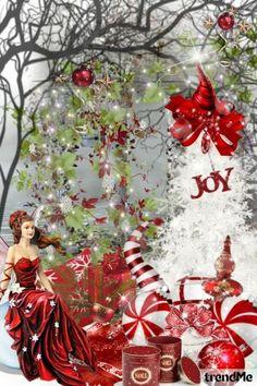 Red and White Christmas - Combinaciónde moda
