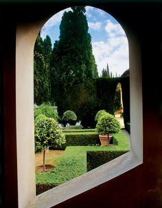 cecil pinsent / giardini di villa la foce, chianciano terme siena