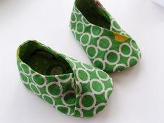 DIY baby kimono shoes pattern