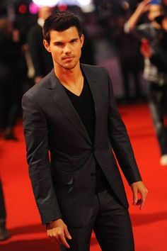 Taylor Lautner. Seriously had a HUGE crush on him throughout high school!!