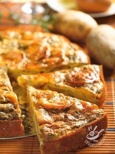 Savory pie with potatoes and mushrooms - Ecco una Torta salata di patate e funghi squisita, ideale per una cena ma anche per un brunch. Buonissima e facile facile da preparare!