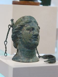 Bronze Balsamarium (cosmetics container) Etruscan Late 4th or early 3rd century BCE | Flickr - Photo Sharing!