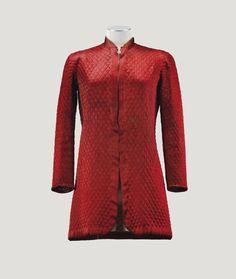 veste matelassée rouge poncea | clothes | sotheby's pf1570lot8498gen