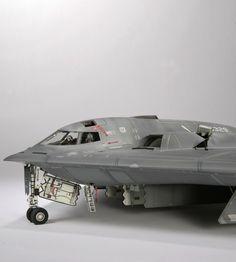cyberware and laws of war - volumetricdisplacement: spirit Plastic Model Kits, Plastic Models, Scale Models, Stealth Bomber, Model Hobbies, Military Modelling, Military Diorama, Rc Model, Model Maker
