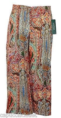 119.00$  Watch now - http://viocy.justgood.pw/vig/item.php?t=mnzpn345845 - Ralph Lauren Ethnic Printed Palazzo Pants NEW