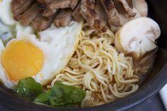 Sopa de fideos al estilo coreano / Korean ramen Más