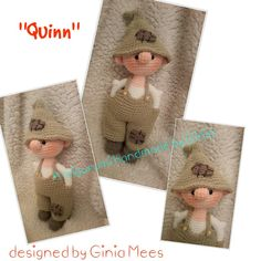 """""""Quinn"""" design and pattern by Ginia Mees"""