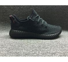 Fake Kanye West Yeezy Boost 350 black Womens Mens Shoes 8a445c9c6