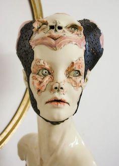 As macabras e sombrias esculturas de pesadelos de Sarah Louise Davey