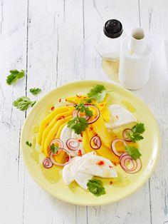 Mozzarella mit Mango