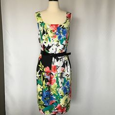 EMA & MICHELE  Size 12 lovely dress NWOT multicolored beautiful good quality dress Ema &Michele Dresses