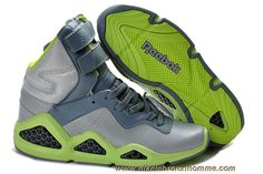 official photos d386b 17926 Gris Vert Reebok CL Chi-Kaze Basquiat Les Chaussures Des Femmes Baskets  Nike, Grey
