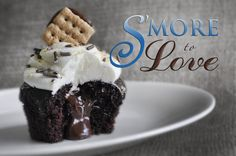 You'll go ga-ga for this heavenly match-made-in-summer: A moist chocolate cupcake filled with a pocket of glimmering milk-chocolate ganache, heaped with a fluffy marshmallow buttercream frosting, d...