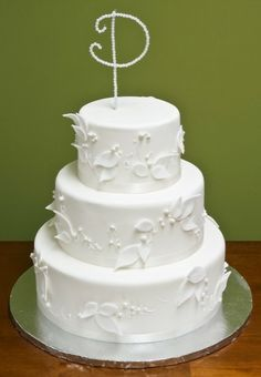 The Pearl Cake Pearl Cake, Cake Gallery, Monogram Wedding, Wedding Cakes, Anniversary, Shower, Engagement, Bridal, Desserts