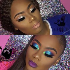 Makeup on fleek Cute Makeup, Glam Makeup, Gorgeous Makeup, Pretty Makeup, Beauty Makeup, Hair Makeup, Black Girl Makeup, Girls Makeup, Dark Skin Makeup