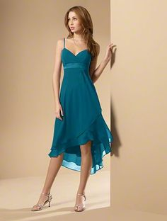 Alfred Angelo - possible Bridesmaids dress #5 - color: tealness, jade, or blue box