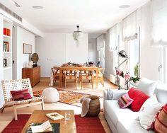 Jurnal de design interior  Două apartamente într-unul singur