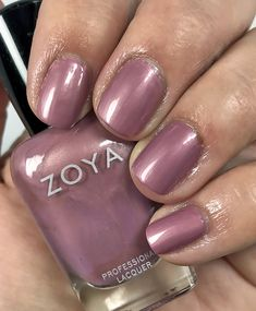 Blushing Noir - the enabler your mother warned you about Opi Nail Envy, Zoya Nail Polish, Opi Nails, Manicure, Makeup Must Haves, Blog Love, Nail Polish Collection, Cream Roses, Pink Tone