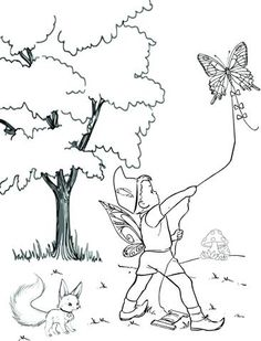 Free Printable fairy coloring pages. Fun and adorable coloring pages for fairy lovers. Fairy Coloring Pages, Wild Flowers, Free Printables, Stuff To Do, Moose Art, Toys, Fun, Activity Toys, Wildflowers