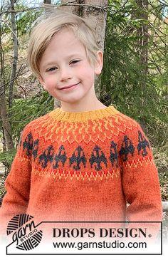 Dragon's Play / DROPS Children 37-11 - Ilmaiset neuleohje DROPS Designilta Drops Design, Knitting Patterns Free, Free Knitting, Drops Alpaca, Knit Crochet, Crochet Hats, Cast Off, Crochet Diagram, Alpacas