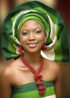 Nigerian beauty.