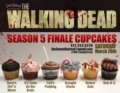 Season 5 Cupcakes by The Sweet Retreat Cupcake Boutique