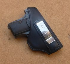 Custom IWB carry holster for Browning 1906 & Colt 1908 Vest Pocket pistols - by Speed up and simplify the pistol loading process  with the RAE Industries Magazine Loader. http://www.amazon.com/shops/raeind