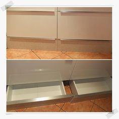 Más espacio para guardar en la cocina con los cajones VARDÖ   MI LLAVE ALLEN