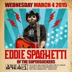 Eddie Spaghetti #A51SLC #arealive #music