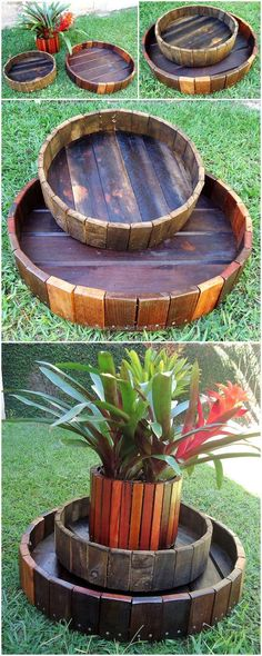 Nothing can beat or compete with the wooden pallet made items. And especially when it comes to the creation of recycled wooden pallet planter art with the useless and old shipping pallet of your home.  #planter #palletplanter #pallets #woodpallet #palletfurniture #palletproject #palletideas #recycle #recycledpallet #reclaimed #repurposed #reused #restore #upcycle #diy #palletart #pallet #recycling #upcycling #refurnish #recycled #woodwork #woodworking
