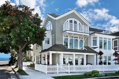 vacation home  (looks to be right down the street from the Beach :)