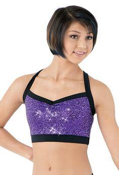 Sequin Dance Costume Bra Top | Balera™