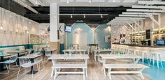 Hooked seafood restaurant by Hannah Churchill, Shanghai – China » Retail Design Blog