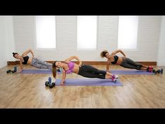 30-Minute Full-Body Strength-Training Workout | Class FitSugar - YouTube