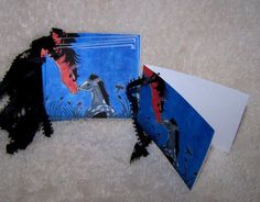 Horse with Filly Gift Tags  Mini Cards by by mariesimagination, $10.00