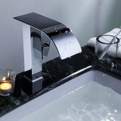 Waterfall Single Handle Basin Mixer Tap(Big Spout)