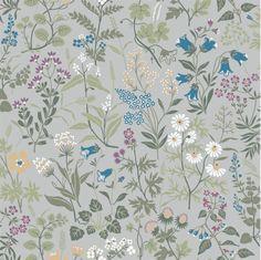Flora behang