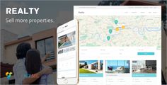 Realty - Unique Real Estate WordPress Theme . Realty is a fully-fledged property management system for real estate agents and companies. Accept free or paid submissions, offer membership packages – all from the frontend of your site.