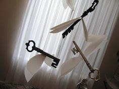 Little Nest Studio: October 2011    Ideas for flying key hanging