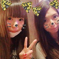 昨日はゆいと久々にごはん( ˙˘˙ )♡* #肉#新宿#今年初ごはん#楽しかった#7年目