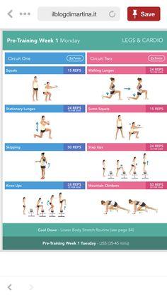 result for kayla itsines pre training week 2 Kayla Workout, Kayla Itsines Workout, Workout Tips, Workout Plans, Bbg Workouts, Fit Board Workouts, Workout Board, Bbg Pretraining, Hiit