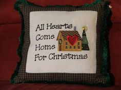Hey, I found this really awesome Etsy listing at https://www.etsy.com/listing/171976845/country-primitive-embroidered-pillow