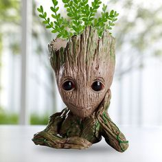 Toys & Hobbies Audacious Galaxy Flowerpot Baby Action Character Cute Model Action Character Toy Best Christmas Gift For Multiple Purposes Dropshipping