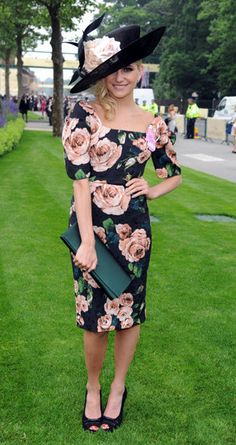 Celebrities at Royal Ascot 2013