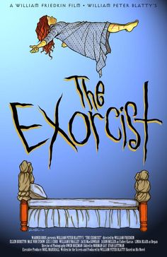 Exorcist, The (1973)  alternative poster - http://www.classichorrorcampaign.com/2013/06/07/exorcist-the-1973/